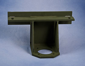 Fabrication of an Aluminum Alloy Antenna Bracket for the Military Industry