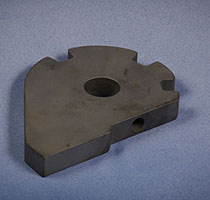 3/4'' Thick Cam-Waterjet Cut